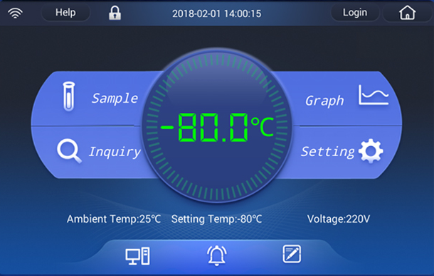 Haier Biometric BPT Display