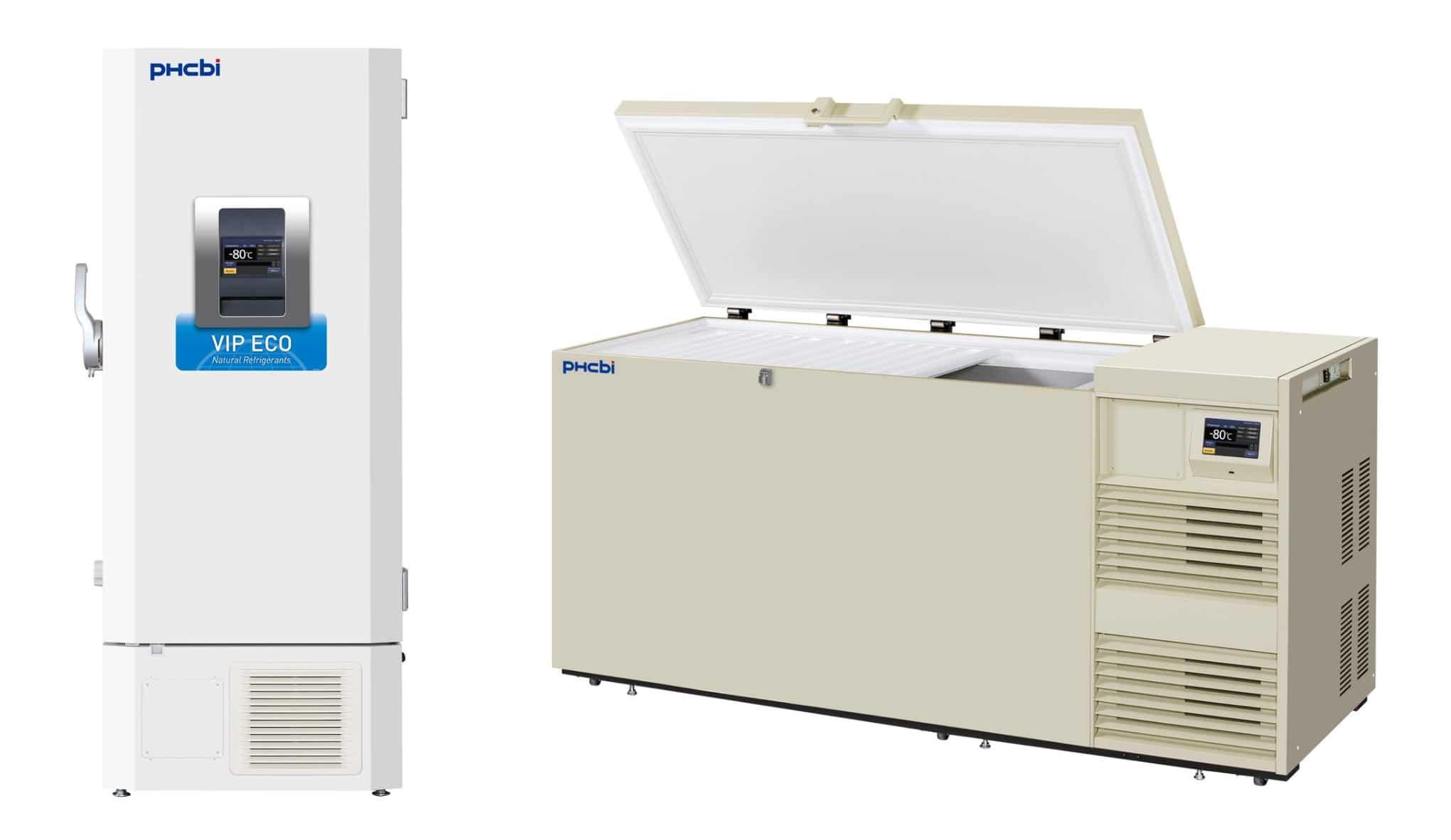 ULT Fryseskap og fryseboks til laboratorium
